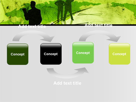 Timeline Global Free PowerPoint Template Slide 4