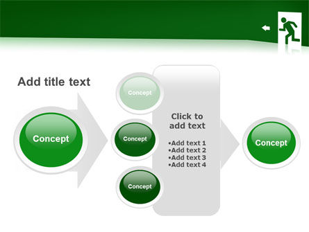 Fire Exit PowerPoint Template Slide 17