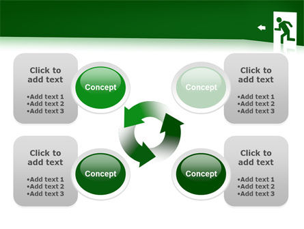 Fire Exit PowerPoint Template Slide 9