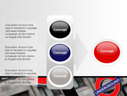 London Subway Free PowerPoint Template Slide 11