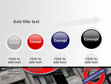 London Subway Free PowerPoint Template Slide 13
