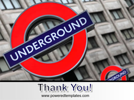 London Subway Free PowerPoint Template Slide 20