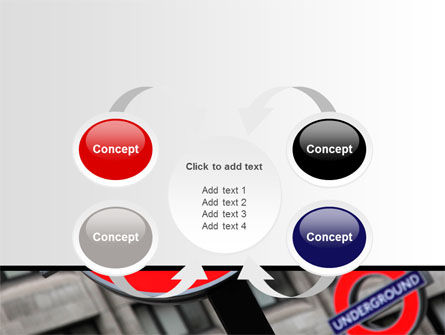 London Subway Free PowerPoint Template Slide 6