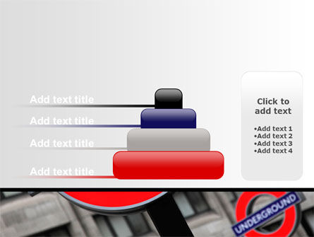 London Subway Free PowerPoint Template Slide 8