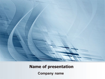 Pale Blue Theme PowerPoint Template