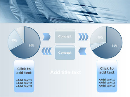 Pale Blue Theme PowerPoint Template Slide 11