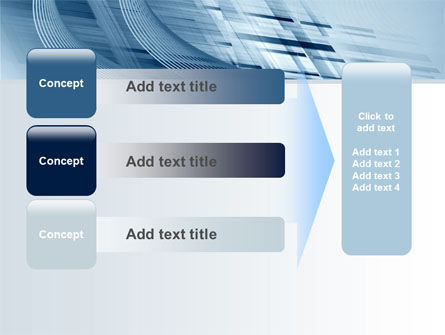 Pale Blue Theme PowerPoint Template Slide 12