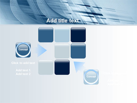 Pale Blue Theme PowerPoint Template Slide 16