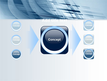 Pale Blue Theme PowerPoint Template Slide 17