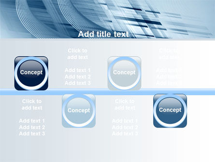 Pale Blue Theme PowerPoint Template Slide 19