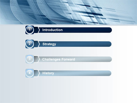Pale Blue Theme PowerPoint Template Slide 3
