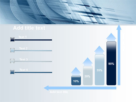 Pale Blue Theme PowerPoint Template Slide 8