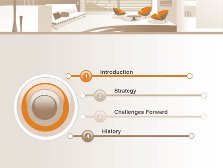 Interior Environment PowerPoint Template, Slide 3, 07699, Careers/Industry — PoweredTemplate.com