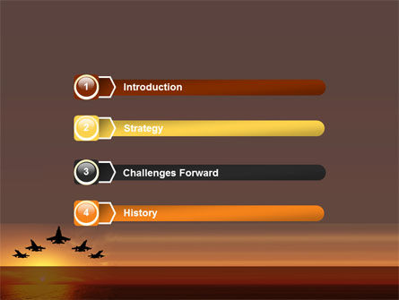 Aircraft Parade PowerPoint Template Slide 3