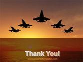 Aircraft Parade PowerPoint Template#20