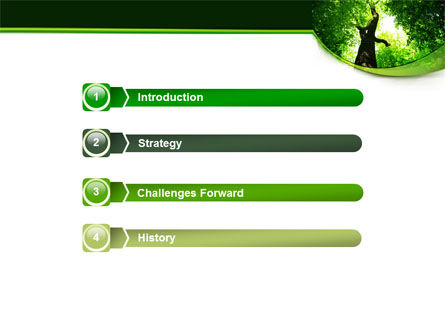 High Tree PowerPoint Template, Slide 3, 07704, Nature & Environment — PoweredTemplate.com