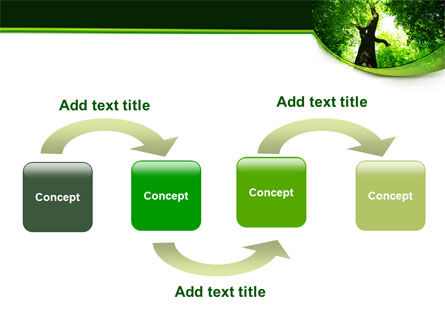 High Tree PowerPoint Template, Slide 4, 07704, Nature & Environment — PoweredTemplate.com