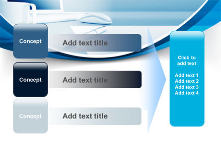 Computer Theme PowerPoint Template Slide 12