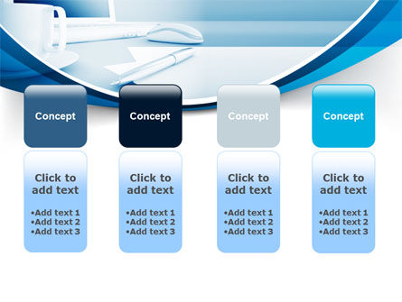 Computer Theme PowerPoint Template Slide 5