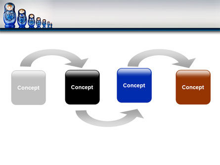 Matryoshka PowerPoint Template Slide 4
