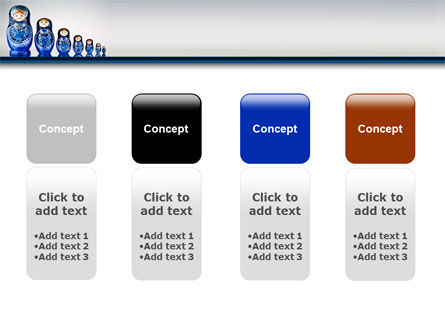 Matryoshka PowerPoint Template Slide 5