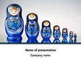 Flags/International: Matryoshka PowerPoint Template #07708