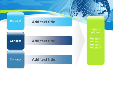Global Telecommunication PowerPoint Template Slide 12