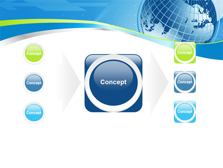 Global Telecommunication PowerPoint Template Slide 17