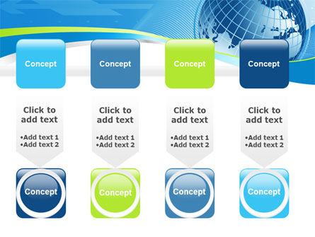 Global Telecommunication PowerPoint Template Slide 18