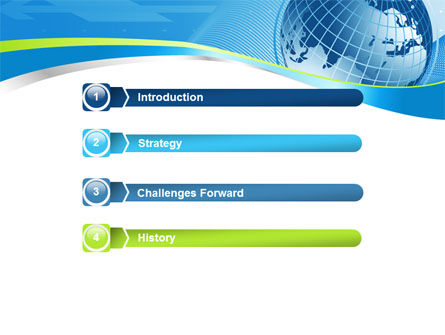 Global Telecommunication PowerPoint Template, Slide 3, 07709, Global — PoweredTemplate.com