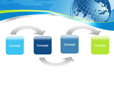 Global Telecommunication PowerPoint Template, Slide 4, 07709, Global — PoweredTemplate.com