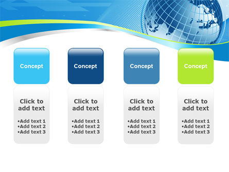 Global Telecommunication PowerPoint Template Slide 5