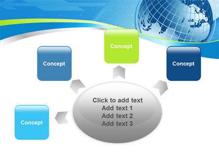 Global Telecommunication PowerPoint Template Slide 7