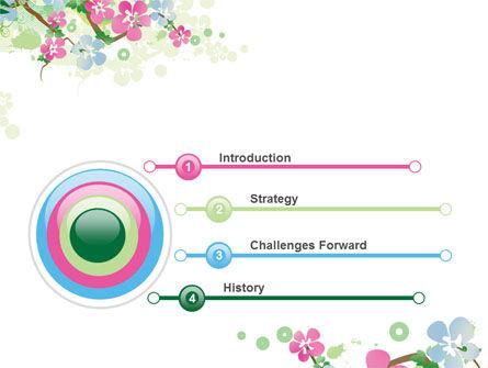 Spring Tree Theme PowerPoint Template, Slide 3, 07710, Nature & Environment — PoweredTemplate.com