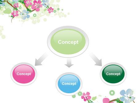 Spring Tree Theme PowerPoint Template, Slide 4, 07710, Nature & Environment — PoweredTemplate.com