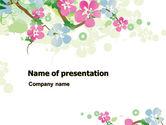 Nature & Environment: Frühling baum thema PowerPoint Vorlage #07710