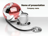 Medical Care Of The World PowerPoint Template#1