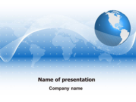 Global: Global Interactive Links PowerPoint Template #07714