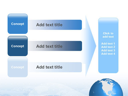 Global Interactive Links PowerPoint Template Slide 12