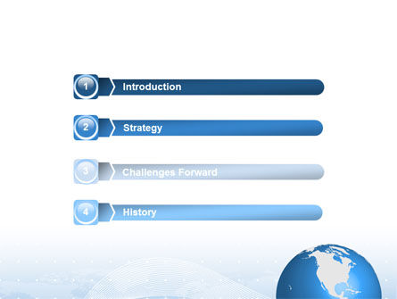 Global Interactive Links PowerPoint Template Slide 3