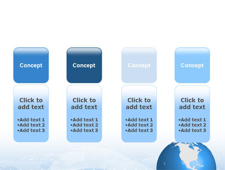 Global Interactive Links PowerPoint Template Slide 5