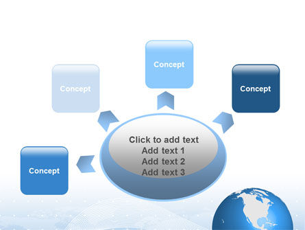Global Interactive Links PowerPoint Template Slide 7