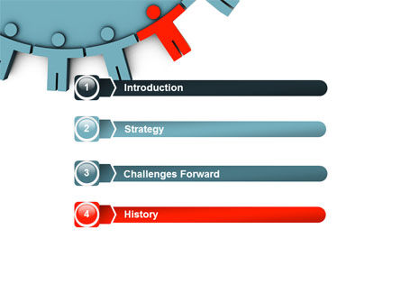 Man Cog PowerPoint Template, Slide 3, 07715, Consulting — PoweredTemplate.com