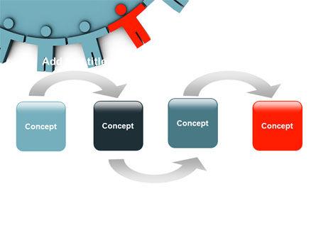 Man Cog PowerPoint Template, Slide 4, 07715, Consulting — PoweredTemplate.com