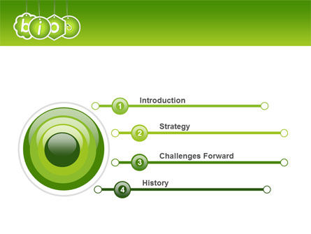 Bio Badges PowerPoint Template, Slide 3, 07716, Nature & Environment — PoweredTemplate.com