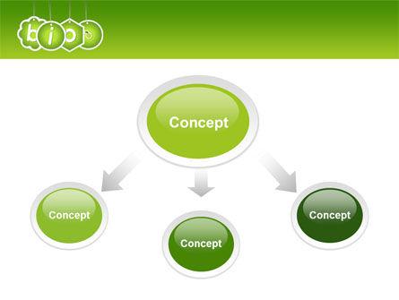 Bio Badges PowerPoint Template, Slide 4, 07716, Nature & Environment — PoweredTemplate.com