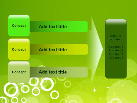 Green Bubbles Theme PowerPoint Template Slide 12