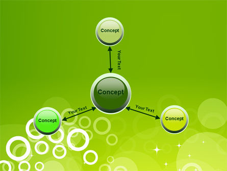 Green Bubbles Theme PowerPoint Template Slide 14