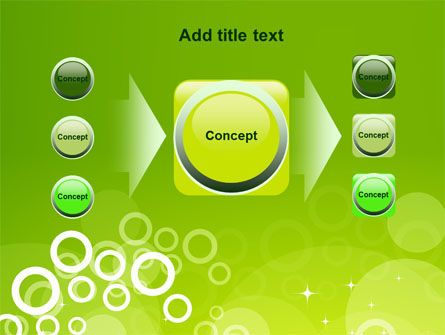 Green Bubbles Theme PowerPoint Template Slide 17