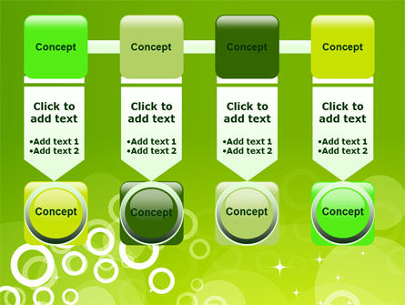 Green Bubbles Theme PowerPoint Template Slide 18